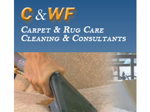 C&WF Maintenance Cleaning Services Logo